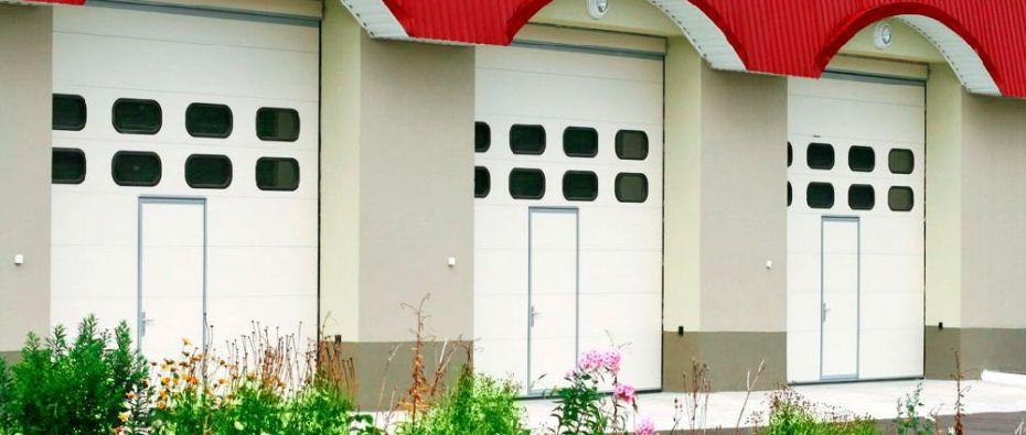 Průmyslová garážová vrata